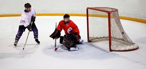 An ice hockey tournament was marred by a carbon monoxide incident.
