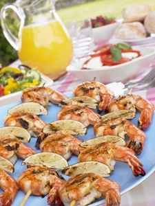 Prawns are considered a risky food by the Department of Agriculture.