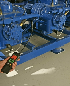 What does tracer gas testing involve?